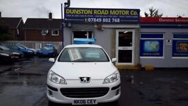 Peugeot 407 hdi can come with a 3 months warranty