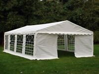 White 5x8m Marquee Gazebo Tent