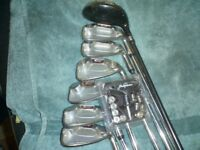 jack nicklaus irons with weights and rescue