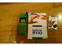 Nokia 5110 mobile phone retro