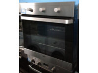 O211 stainless steel beko single electric oven comes with warranty can be delivered or collected