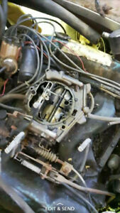 1978 440 engine with transmission