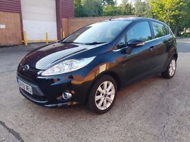 Ford Fiesta 1.6 TDCi Zetec 5dr STUNNING CAR, Diesel, £30 Tax A Year.