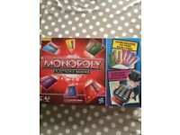 Unopened Monopoly Electronic Banking Game