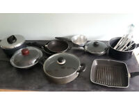 Pots and pans and cutlery