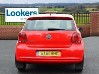 Volkswagen Polo S (red) 2011-09-14
