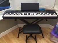 Piano electric fully waited keys