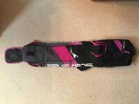 Pink Slazenger hockey bag