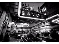 EVENT MANAGER for Event at the SAVOY