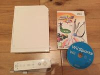 Nintendo Wii with assorted games/accessories - excellent condition