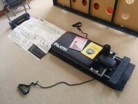 Aero Pilates Machine JP 295 Corded Reformer Machine With Cardio Rebounder
