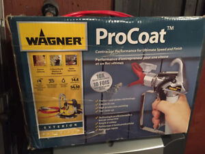 Wagner ProCoat Sprayer Airless