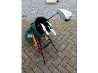 Mixed 1/2 set of Golf Clubs & Equipment