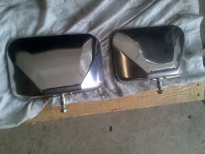 1978 1979 FORD TRUCK BRONCO NOS OEM SS MIRROR HEADS NEW