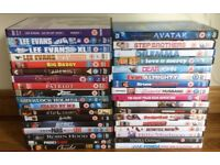 35 assorted DVD's.