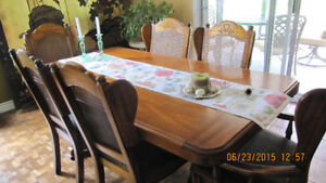 Very large beautiful dining suite