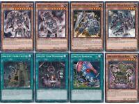 41 Cards Ancient Gear Deck Yugioh| Yu-Gi-Oh GX Vellian Crowler's Authentic* Ancient Gear Dragon Deck