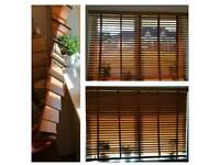 100% Wood window blinds