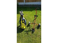 Kids junior golf clubs, set. For pprox age 5-9