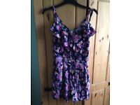 Lipsy play suit size 6 new
