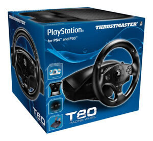 THRUSTMASTER* T80 RACING WHEEL for PS4/PS3