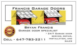 OSHAWA** GARAGE DOOR REPAIR SERVICE CALL NOW 6477832211!!!