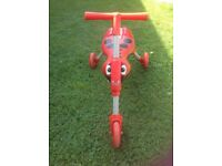 Scuttlebug trike/ ride-on toy. In good used condition.