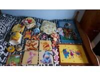 Winnie the pooh bedroom bundle