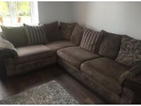 DFS matching corner and swivel chair