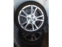 Mazda Sport Alloy wheels and sport tyres