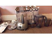 KENWOOD FP586 Silver MultiPro Food Processor + Blenders 500 W