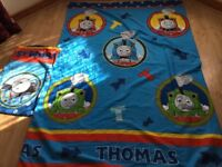 🛏 ** Kids Bed Cover And Pillow Case Thomas Tank Engine ** 🛏
