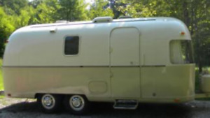 1972 Airstream Argosy coach 22ft travel trailer.....sold