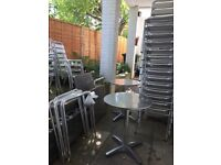 Stacking Chairs & Tables - Aluminium