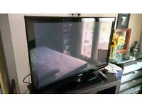 """50"""" Samsung Flat Screen Full 1080 HDMI Plasma TV with Freeview & original full working remote"""