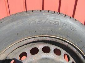 Michelin Energy Tyre (& Rim)