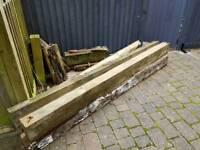 Wood Railway Timber Sleepers