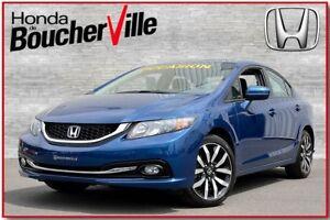 2015 Honda Civic Touring  *taux 2.99%    Cuir  Navigation