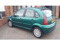 BRILLIANT...CITROEN C3..1.4SX..2004..69200MILES .FULL 100%SERVICE HISTORY..mint in out.4 MONTH MOT..