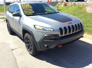 2016 Jeep Cherokee TRAILHAWK/LEATHER/LOADED
