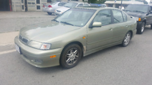 2000 Infinity g20 SAFETIED OR AS IS