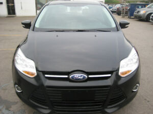 2012 Ford Focus SEL SedanCAR PROOF VERIFIED SAFETY AND E TEST IN