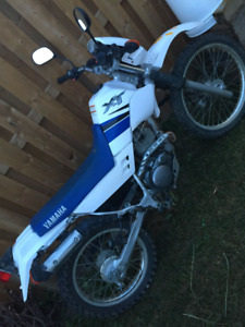 Yamaha Xt 225  with ownership