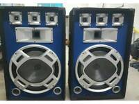 heavy duty party woofers 800w
