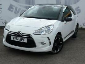 2011 CITROEN DS3 1.6 DSTYLE PLUS LOW MILEAGE 17 INCH ALLOY WHEELS PARKING SENSOR