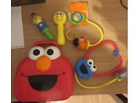 Kids Sesame Street Medical Set