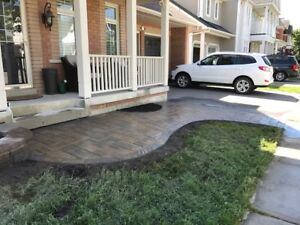 ****STONE PATIO, LANDSCAPING AND DECKS FENCES****