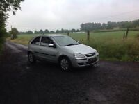 24/7 Trade sales NI Trade Prices for the public 2005 Vauxhall Corsa 1.2 SXI 3 Door Silver low miles