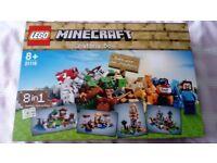 Minecraft Lego Crafting box