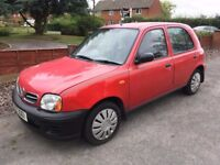 2003 Nissan Micra 1.0ltr Automatic - Only 42000mls From New